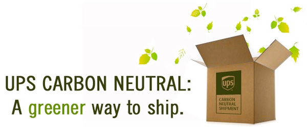 UPS-CarbonNeutral - AGreener Way To Ship