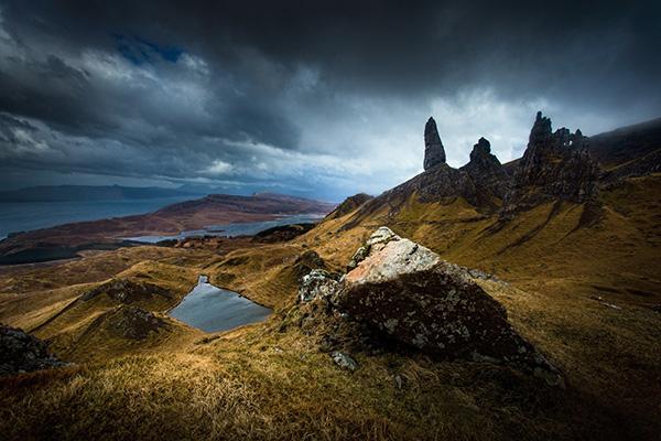 Patrice Mestari - Old Man of Storr, Écosse
